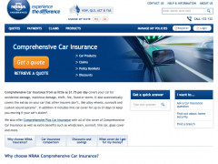 Get car insurance quote from NRMA Insurance