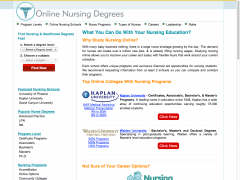 Nursing Degree Programs