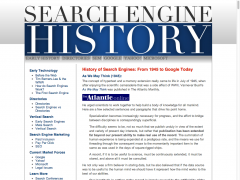 Search Engine History.com