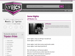 Lyrics.net