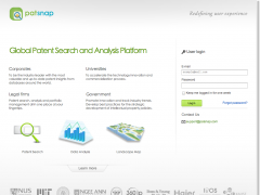Patent Search&Analysis - Patsnap