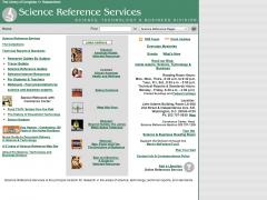 Science Reference Services